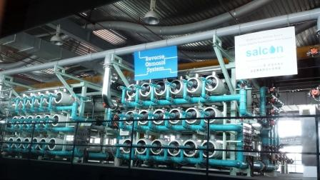 reverse osmosis in water treatment plant