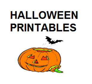 halloween printables for kids