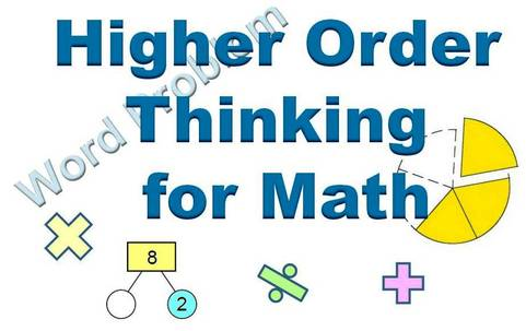 higher ordering thinking for math
