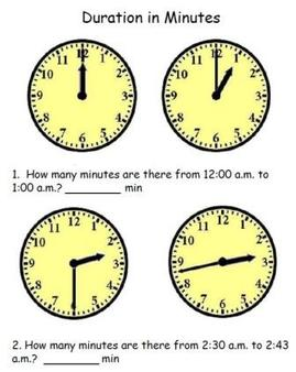 convert time and duration