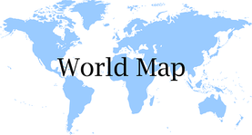 printable world map