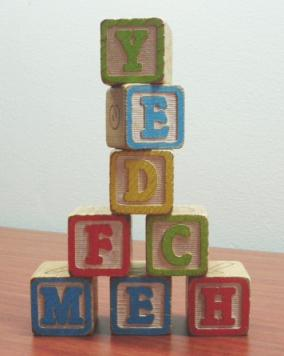 use ABC block for alphabet activities