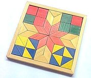 pattern block math manipulatives to train spatial concept