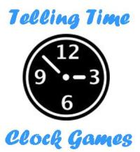 clock games and activities to learn to tell time
