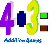 addition games and activities