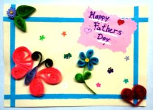 use paper quilling to make a card