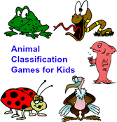 animal classification kids science games